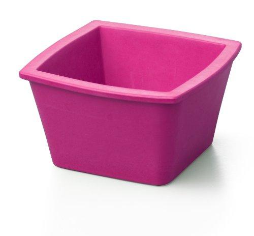 - BioCision TruCool Mini 1 Liter Capacity EVA Foam Square Ice Pan, Pink