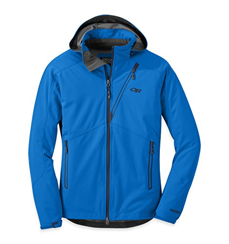 Outdoor Research Men's Linchpin Hooded Jacket, Glacier, Large ()