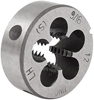 Aexit 9/16' '- 12 UNC 38 mm Außendurchmesser Runder Gewindeschneidewerkzeug (3133271f51e9110f4aff5c902cfde487)