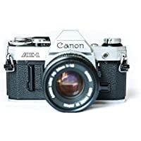Canon AE-1 35mm Film Camera w/ 50mm 1:1.8 Lens