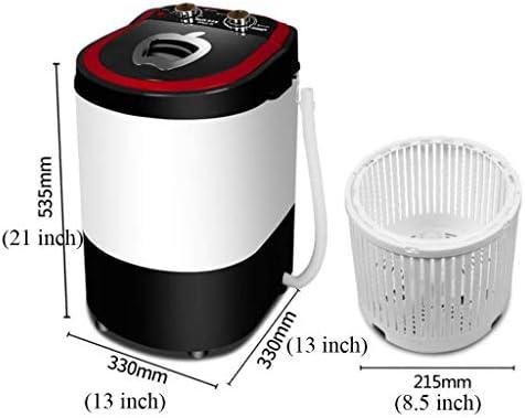 WSJTT Lavadora portátil Compacto Full-automática Capacidad de ...