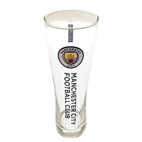 Club de fútbol Manchester City FC Vaso de cerveza alto ...