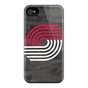 Iphone 4/4s FFt16453xXnM Customized Attractive Portland Trail Blazers Series Perfect Hard Phone Cover -KerryParsons