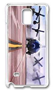 Adorable ac 130w stinger ii American Special OPS Hard Case Protective Shell Cell Phone Samsung Galaxy Note4 - PC Transparent