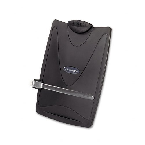 - Kensington : Insight Plus Easel Desktop Copyholder, 50-Sheet Capacity, Graphite -:- Sold as 2 Packs of - 1 - / - Total of 2 Each