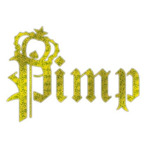 Chroma Graphics Pimp Glod Metallic Die Cutz Decal
