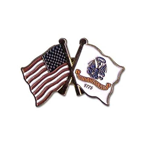 US Flag Store US and Army Lapel Pin Flag