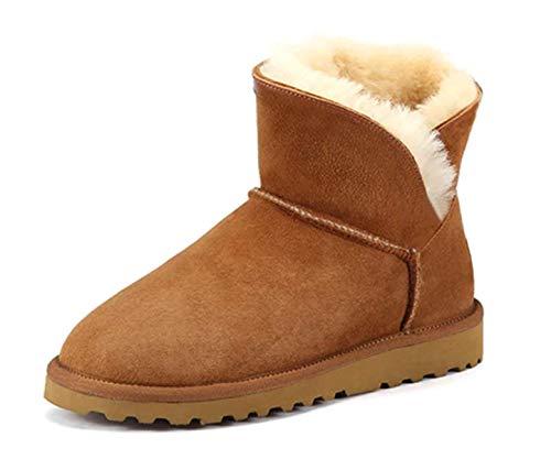 Boots Ws Marron Basses Fourrées Entièrement 0fnZxnw