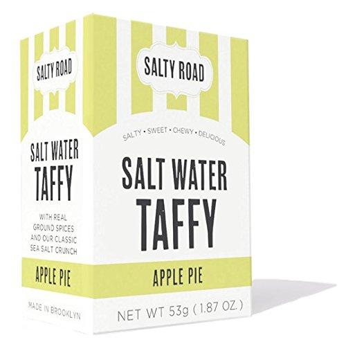 Salty Road Gourmet Saltwater Apple Pie Taffy 1.87 oz Box