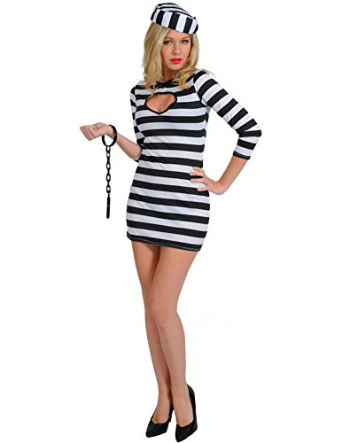 Adult Sexy Convict Costume (Sexy Robber)