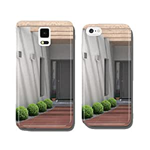 Modern house entrance cell phone cover case iPhone5