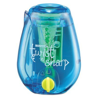 Twist-n-Sharp Pencil Sharpener, Assorted Colors, Sold as 1 Each