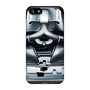 High Grade AleighasZelaya Flexible Tpu Case For Iphone 5/5s - Jaguar Xkr Supercharged Engine