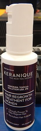 Keranique Hair Regrowth Treatment for Women Spray by Kera...