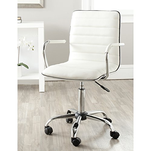 Safavieh Home Collection Jonika White Desk Chair