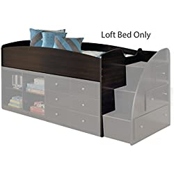 Amazon Com Ashley Furniture Signature Design Embrace Youth Twin Loft Bedset With Caster Bed