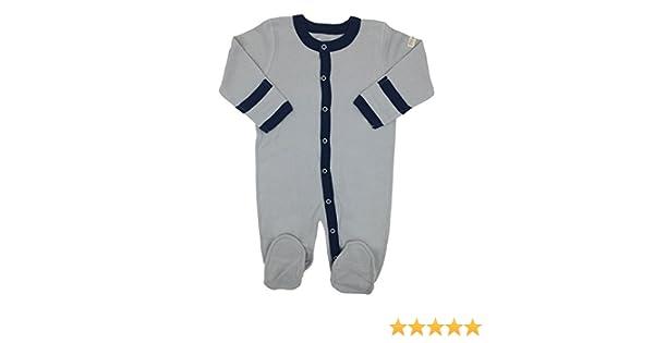 d45eb9046 Amazon.com: Little World Peas Organic Baby Boys Footed Sleepsuits: Clothing