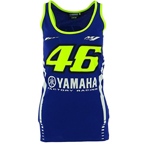 Valentino Rossi VR46 Moto GP M1 Yamaha Racing Women's Tank Top Official - Top Valentino