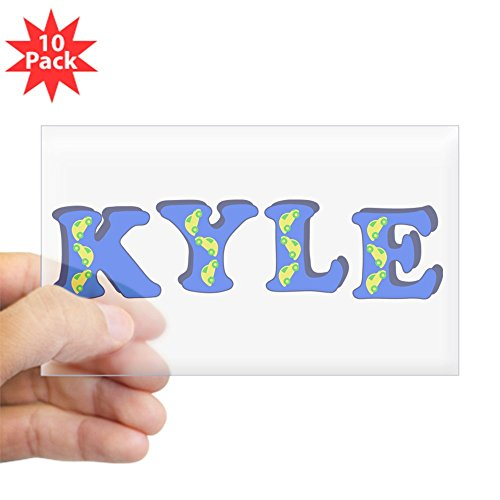 CafePress - Kyle - Rectangle Bumper Sticker (10-pack), Car Decal