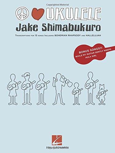 Amazon com: Peace Love Ukulele (9781458413772): Jake