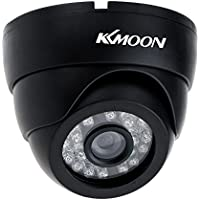 KKmoon CCTV 800TVL Indoor 24 LEDS Wide Angle IR Color Security Surveillance Dome Camera