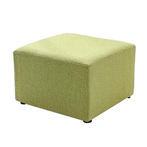 Kylin Express Fashionable Square Cloth Modern Small Stool Table Stool Sofa Pier Ottoman Stool, E by Kylin Express