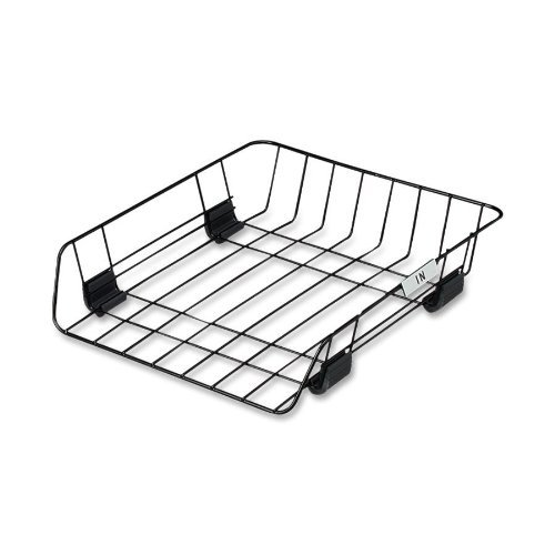 Fellowes, Inc Self Stacking Tray,Letter,Front Load,10-7/8amp;quot;X12-5/8amp;quot;X2-5/8amp;quot,Black (Fellowes Stacking Supports)