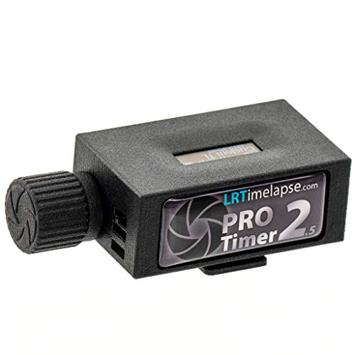 LRTimelapse PRO Timer 2.5 Camera Intervalometer for Time Lapse and Astro Photography – Adjustable Interval Length – 0.1 Seconds