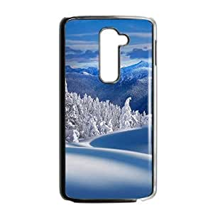 Beautiful winter scenery durable fashion phone case for LG G2 by icecream design