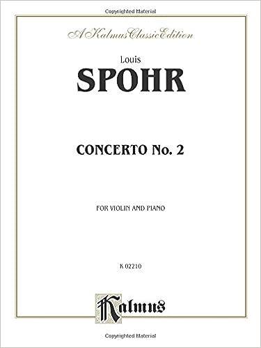 Concerto No. 2 (Kalmus Edition)