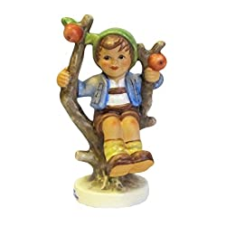 ISDD Cuckoo Clocks Hummel figurine Apple Tree Boy, original MI Hummel Collection, gift-boxed