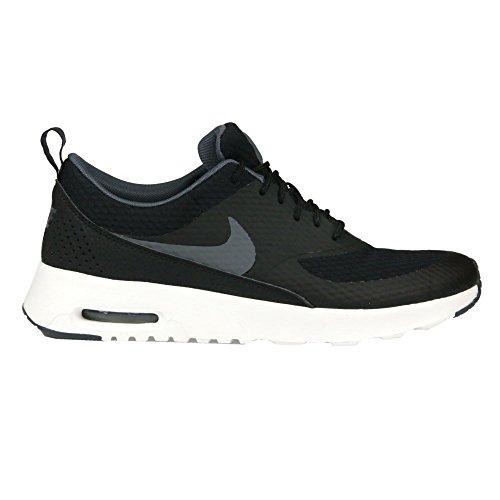 Nike Women's Air Max Thea TXT Running Shoe (10.5 B(M) US, Black/Dark Grey/Summit White)