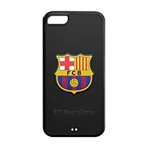 LJF phone case Godstore Football FC Barcelona iphone 4/4s Best Rubber Cover Case
