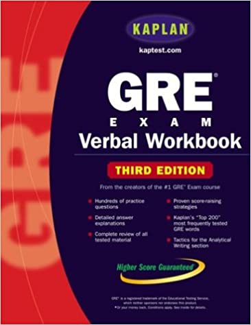 kaplan gre exam verbal workbook kaplan gre verbal workbook kaplan 9780743241304 amazoncom books
