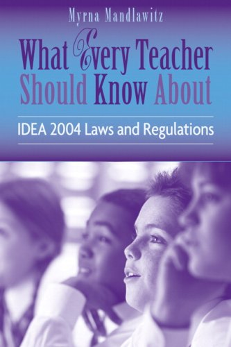 What Every Teacher Should Know About IDEA 2004 Laws & Regulations