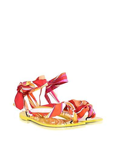 72CE3272X50024 Sandalias Emilio Seda Mujer Multicolor Pucci z0nw1qxESR