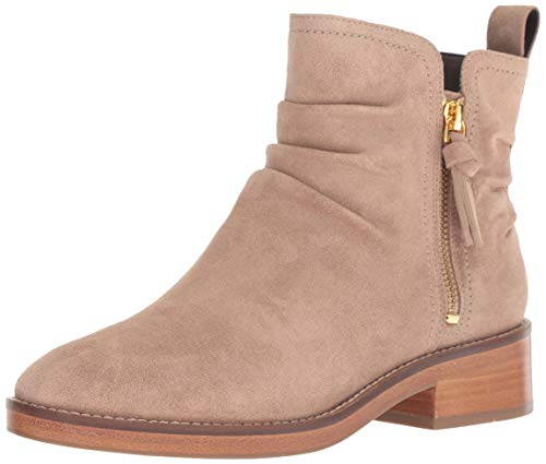 Cole Haan Women's Harrington Grand Slouch Bootie Ankle Boot, Maple Sugar Suede, 8.5 B US