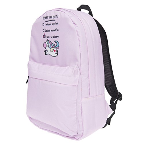 Students for Rainbow Backpack Print Color Multi Cartoon Kfnire College 3D Pink Teens Monkey Bag School Backpack xPfYAOpO