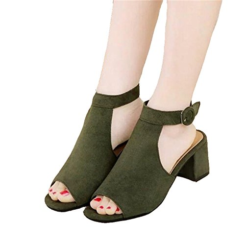 sandals sandals brand fish shoes brown frosted ladies sexy high OL NEW Women's 8 heeled with mouth OYxaUaw