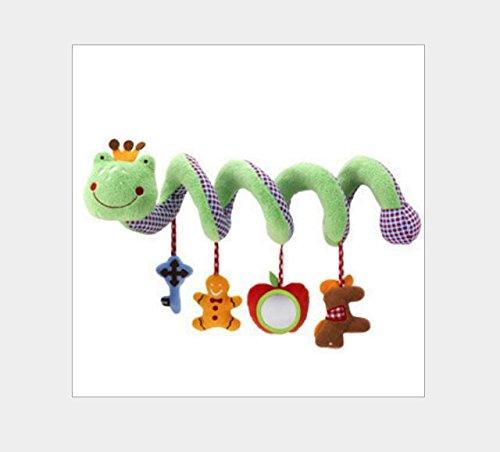 Aiweasi Juguetes de los niños del bebé Accesorios de Cuna para Cuna, Animal de Dibujos Animados Carrillón para Colgar...