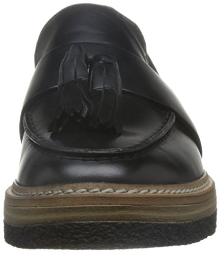 Loafer Clarks Zante Ladies Shoes Spring Black Flat OIIwq1r6