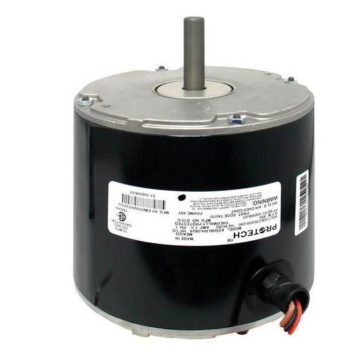 Emerson Motor - K55HXLRH-0824 - OEM Upgraded Emerson Condenser Fan Motor 1/5 HP 208-230/220-240 Volts 850 RPM