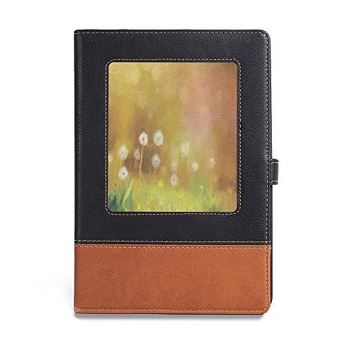 - Premium Thick Paper,Watercolor Flower Home Decor,A5(6.1