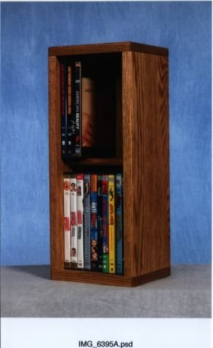 The Wood Shed 215 DVD Storage Cabinet - Dark by CD Racks