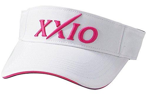 DUNLOP(ダンロップ) XXIO バイザー  XMH6304 ホワイトピンク