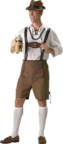 Matching Costumes For Guys (InCharacter Costumes Men's Oktoberfest Guy Costume, Brown, Large)