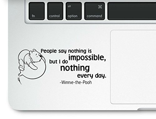 Nothing Impossible Motivational Compatible Trackpad