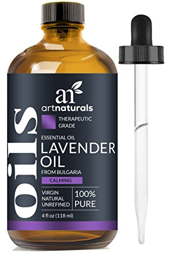 French Lavender Essential Mist - ArtNaturals 100% Pure Lavender Essential Oil - (4 Fl Oz / 120ml) - 3pc Set - Includes Our Signature Zen Blend 10ml and Signature Chi 10ml - Therapeutic Grade Natural From Bulgaria