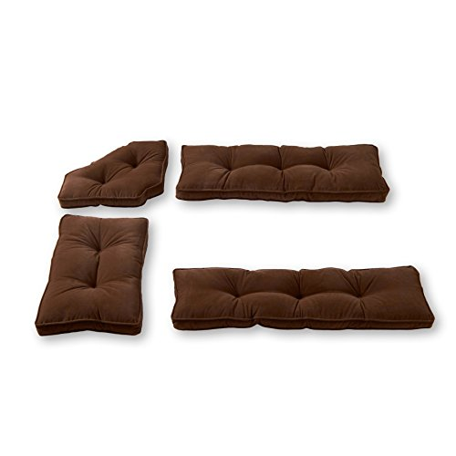 Greendale Home Fashions Nook Cushion Set, 4-Piece