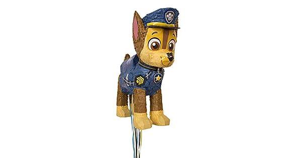 Amazon.com: Chase PAW Patrol - Piñata para fiestas de ...